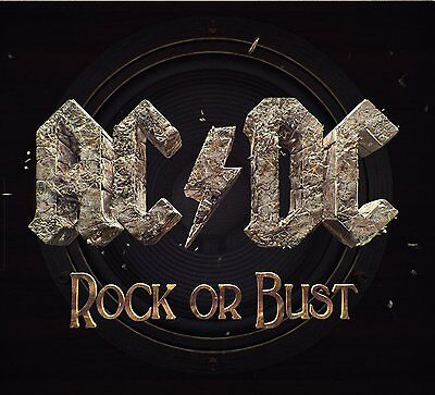 AC/DC - Rock or Bust (2014)  CD  NEW/SEALED Digipak  SPEEDYPOST