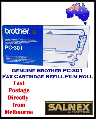 Genuine Brother PC-301 Fax Cartridge Refill Film Roll