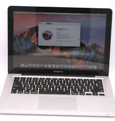 Apple Macbook Pro MC975LL/A A1278 13.3in 250GB SSD 2.5Ghz Intel Core i5 8GB DDR3