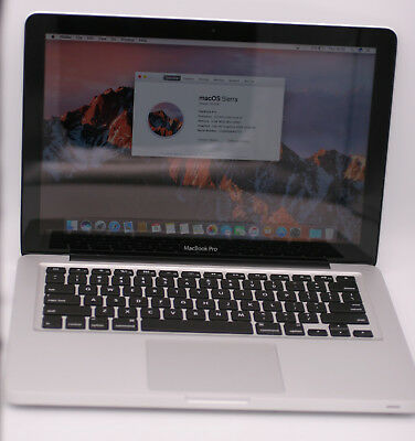 Apple Macbook Pro MD101LL/A A1278 13.3in 500GB HHD 2.5Ghz Intel Core i5 4GB DDR3