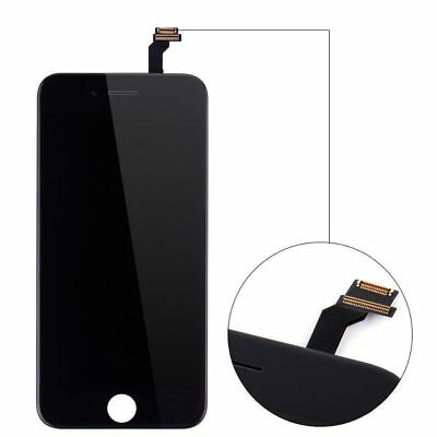 For iPhone 6 Black LCD Replacement Display Touch Screen Assembly + Free Tools