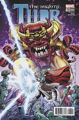 The Mighty Thor #706 Variant Marvel Legacy - 1St Print - Boarded. Free Uk P+P