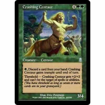 MTG ODYSSEY * Crashing Centaur (foil) - Condition: Mint / Near Mint