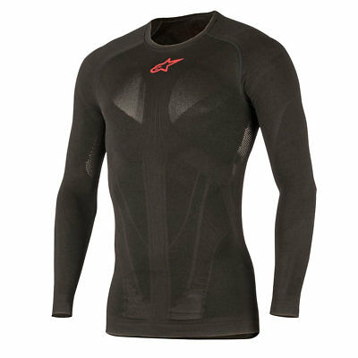NEW Alpinestars Ride Tech Summer Motorcycle Thermals Base Layer LS Top