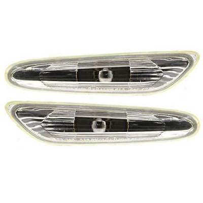 For BMW 1 Series E81 2004 - > Clear Side Repeaters Indicators 1 Pair