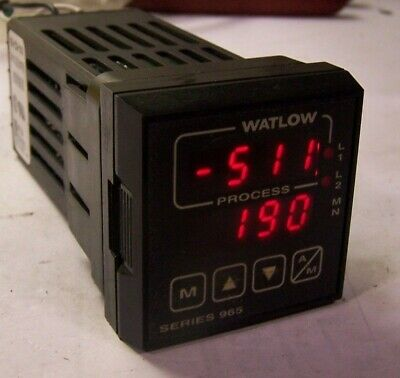 Watlow 120Vac Temperature Controller 965A-3Cd0-0000