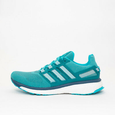 Womens Adidas Energy Boost 3 Green Trainers (TGF12) RRP £119.99