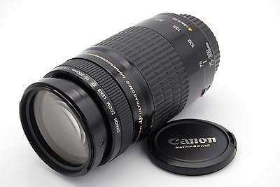 Canon Ultrasonic Ef 75-300mm F/4-5.6 Zoom Lenti