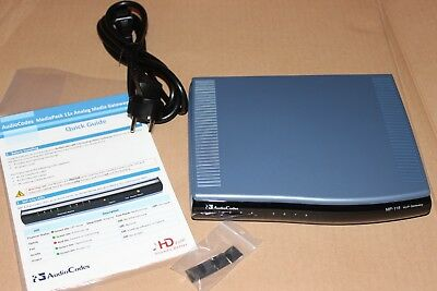 AudioCodes MediaPack MP-118 MP118 8 FXS VoIP Gateway 8 Port GGWV00290 ZB352