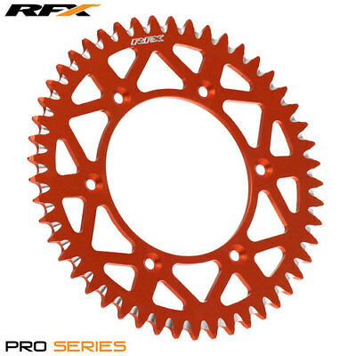 For KTM EXC 525 Racing 2003 RFX Pro Series Elite Rear Sprocket Orange 44T