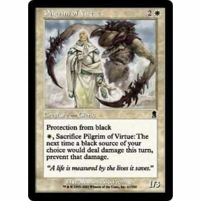 MTG ODYSSEY * Pilgrim of Virtue (foil) - Condition: Mint / Near Mint