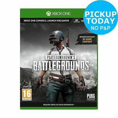 Player Unknown's Battlegrounds Full Microsoft Xbox One Game 16+ Years