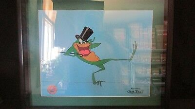 Michigan J Frog Warner Brothers Framed Sericel with Certificate