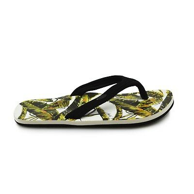 29484c384c34aa Animal® Swish Slim AOP Women s Leaf Green Flip Flops Sandals. Brand New on  Sale