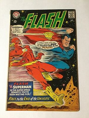 The Flash 175 Vg+ Very Good + 4.5 Silver Age Superman Race