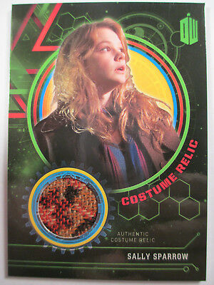 Sally Sparrow Costume Relic card (Coat) #474/499 - Topps Doctor Who