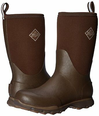 Muck Boot Men's Arctic Excursion Mid Boots Brown Chocolate/Desert Palm