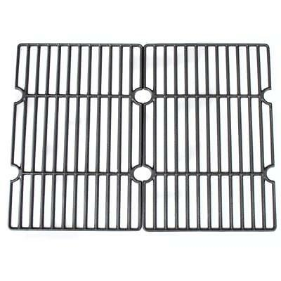 CosmoGrill Smoker Cast Iron Cooking Grid Pair compatible with Smoker 93437