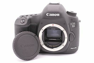 Canon EOS 5D Mark III 22.3MP Digital SLR Camera - (Body Only) Shutter Count: 115