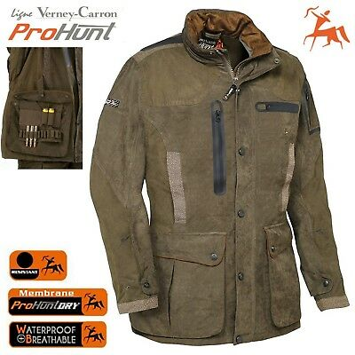 best service 2aac0 9c6aa GIACCONE CACCIA VERNEY-CARRON Pro-Hunting IMPERMEABILE Parka Giacca  Giubbotto