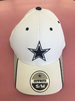 db56c502b ... order new nfl dallas cowboys fitted hat flexfit cap new era star tactel  white s m 9b809