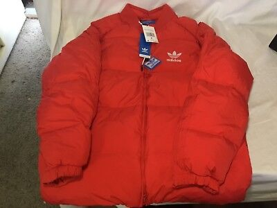 cef92ed56dcb ADIDAS MEN ORINGINAL SST Heavy Down Padded Jacket