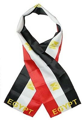 "Egypt Country Lightweight Flag Printed Knitted Style Scarf 8""x60"""