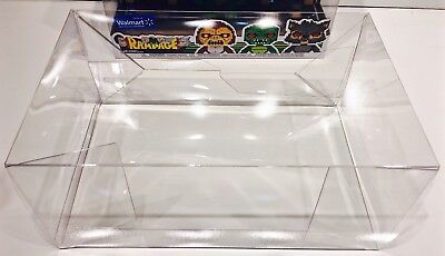 1 Box Protector For The FUNKO RAMPAGE 3 Pack      Custom Clear Display Case New