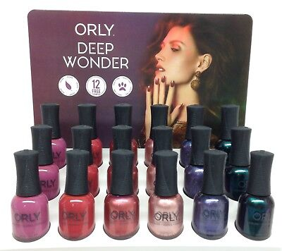 Orly Nail Lacquer - DEEP WONDER Collection - Pick Any Color .6oz/18ml