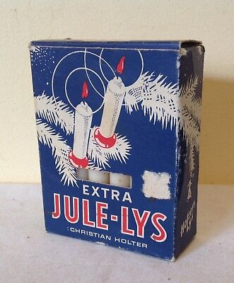Vintage Extra Jule-Lys Candles Christian Holter