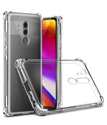 For LG G7 ThinQ Shockproof Clear TPU Soft Silicone Ultra Thin Case Cover