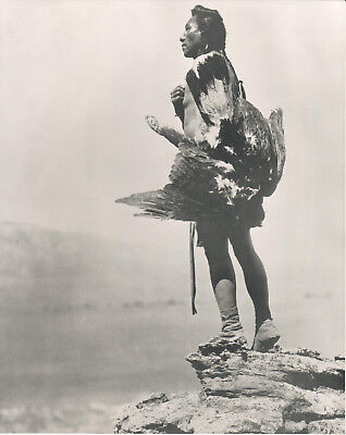 Sioux - The Eagle Catcher, Edward Sheriff Curtis 8 x 10 Photograph Circa 1908