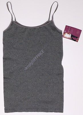 New Women's Maternity Cami Tank Top Seamless BeMaternity NWT Size Sz S M L XL
