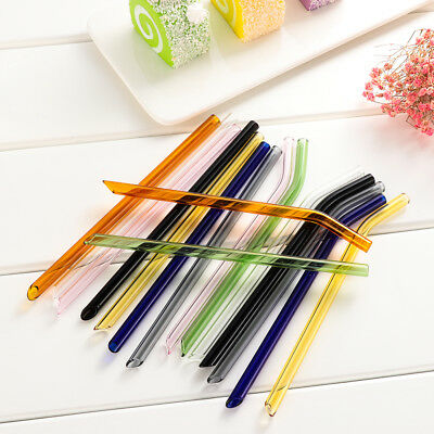 Accessories Reusable Straight/ Bend Drinking Straw Glass Straws Pipette Pyrex