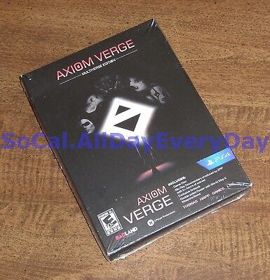 Axiom Verge: MULTIVERSE Edition (PlayStation 4) BRAND NEW & FACTORY SEALED ps4