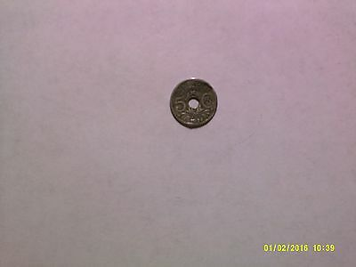 Old France Coin - 1924 5 Centimes - Circulated