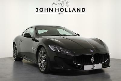 "2013 Maserati GranTurismo V8 Sport Automatic 20"" Grey Alloy Wheels with Yellow B"