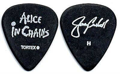 Alice in Chains Jerry Cantrell authentic 2006 tour signature Heavy Guitar Pick