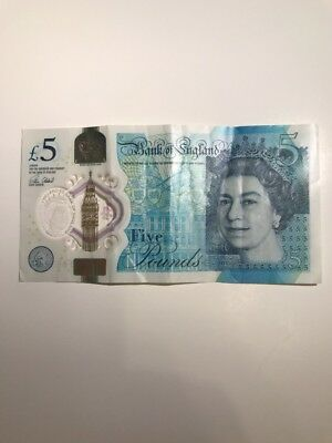 Five English Pounds (£5 Note)