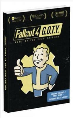 Fallout 4: Vault Dweller's Survival Guide (Game Strategy Book) - Brand New