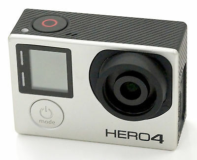 Gopro Hero 4 BLACK Edition 4K Action Camcorder With 8.25mm (47mm) f/2.8 Lens