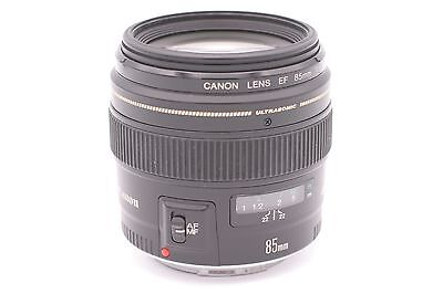 Canon EF 85mm f/1.8 USM Fixed Lens for Canon SLR Cameras