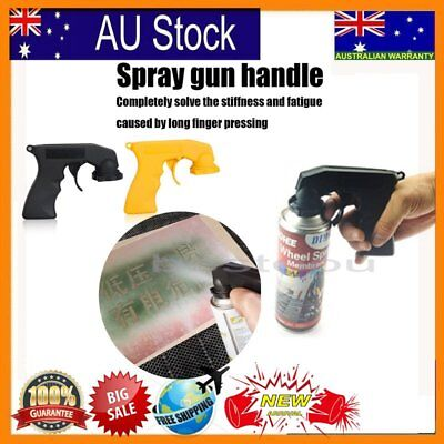 NEW Aerosol Spray Gun Can Handle Full Grip Trigger Locking For Painting HolderR