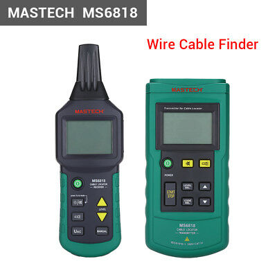 Mastech MS6818 Wire Tracker Cable Finder Metal Pipe Locator Detector Tester