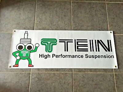 TEIN Suspension banner sign garage shop wall motor sports performance racing JDM
