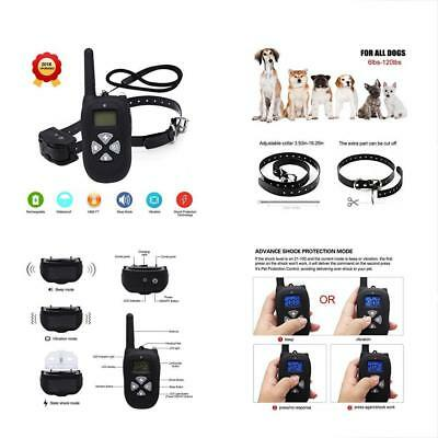 NEW2018 Remote Training Collars Dog 1450ft Waterproof And Rechargeable Electric
