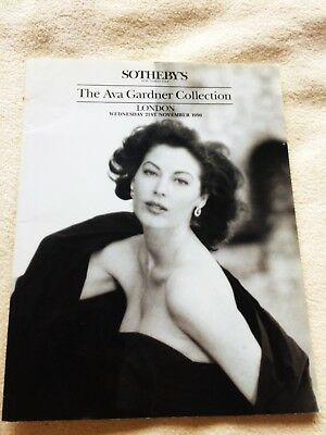 Sotheby's The Ava Gardner Collection - VERY RARE & COLLECTIBLE CATALOGUE
