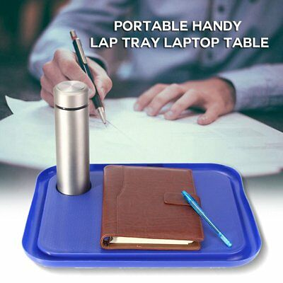 42 x 33cmPortable Handy Lap Tray Laptop Table Outdoor Learning Desk P@R