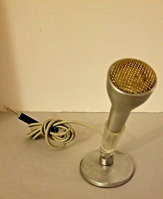 Vintage Sonotone Microphone with Stand