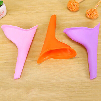 Women Female Portable Urinal Outdoor Travel Stand Up Pee Urination Device CaseMR